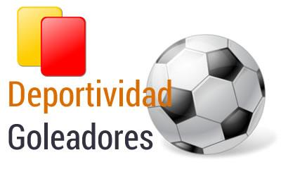 Goleadores Deportividad Fútbol 7 Senior Grupo A