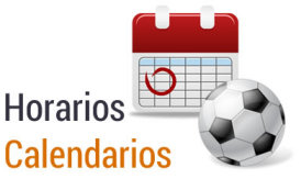 Calendario Fútbol 7 Senior Grupo 2
