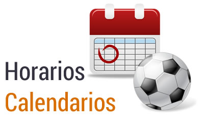 Calendario Fútbol 7 Senior Grupo B